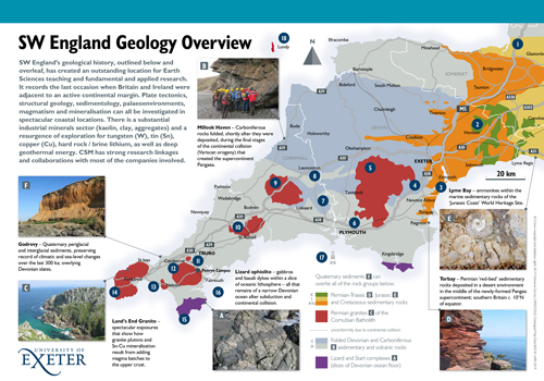SW England overview of geology and resources